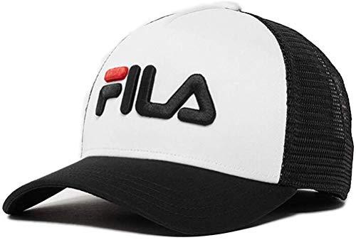 Fila Trucker Trucker Cap SNAP Back 686045 E09 Black Bright White, Size:ONE Size