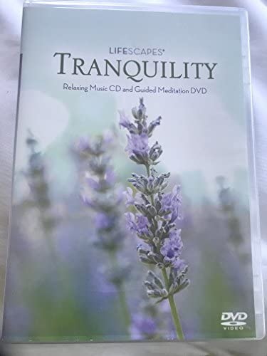 Lifescapes Tranquility Relaxing Music CD and Guided Meditation DVD product image