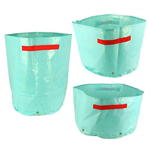 Gardeningwill respectueux de l'environnement étanche PE de pomme de terre végétale Grow Sac de plantation 3 différents Packs bleu