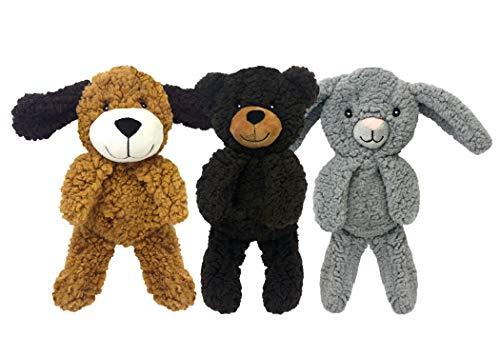 Multipet Aroma Dog Rescue Fleece Man 9' Dog Toy, Assorted