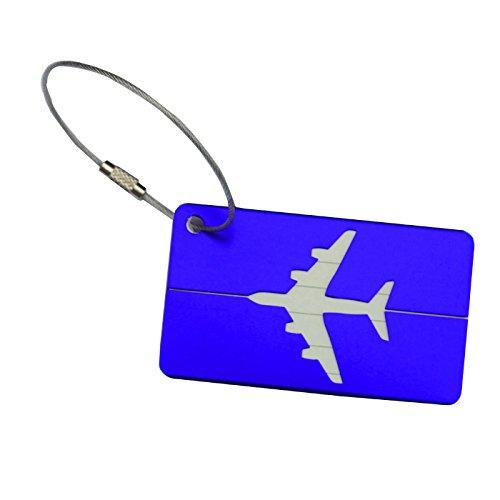 TTCI-RR Etiquetas Equipaje, Etiquetas de Equipaje de Viaje Etiquetas de Bolsas de Maleta Viajes IDENTIFICACIÓN Bolsa Tag Airlines Etiquetas Etiquetas Equipaje Tarjeta de Registro de Equipaje