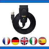 ScanTool OBDLink EX USB – kompatibel mit ForSCAN – Diagnose-Koffer für Auto Pro verschiedene...