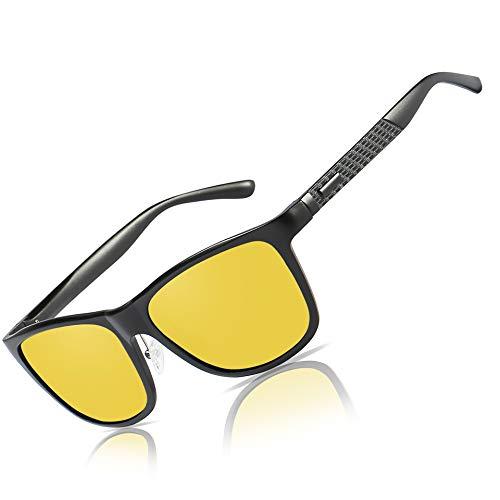 Bircen Mens Polarized Sunglasses UV Protection Fishing Driving Sunglasses for Men Women
