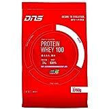 DNS プロテイン ホエイ100 いちごミルク風味 3150g(約90回分) 大容量 たんぱく質 筋トレ