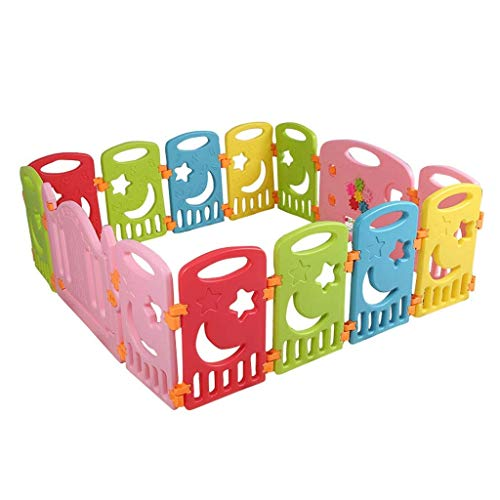 Find Bargain HWZQHJY Large Playpen for Babies 14 Panels Activity Center