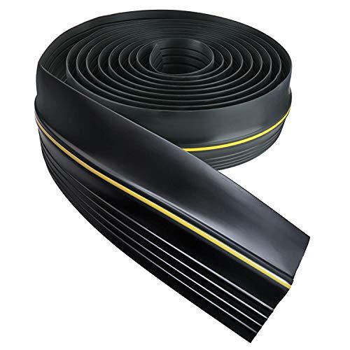 DasMarine Universal Garage Door Threshold Seal DIY Weather Stripping 1/2 inch Thick 16 Ft Length (1/2