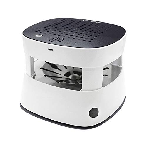 SunshineFace Ashtray Air Purifier USB Rechargeable Anion Air Cleaner Purifier with Ashtray Cigarette Lighter for Home Office