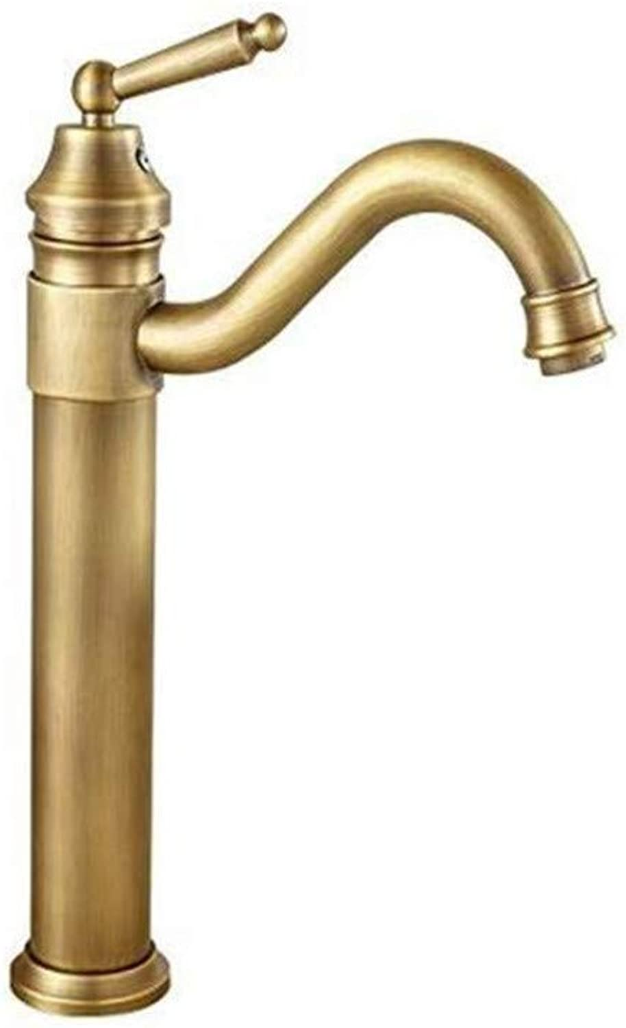 Classic Faucet Faucet Washbasin Mixer Brass Bathroom Sink Mixer Tap Water Hot and Cold Basin Wash Tap Bk03021