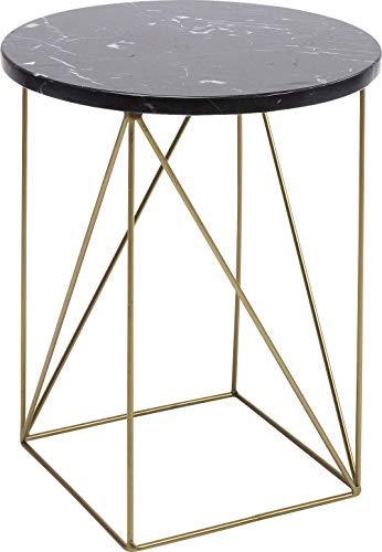 Kare 83970 bijzettafel Key Largo, 35cm, goud/zwart, één maat