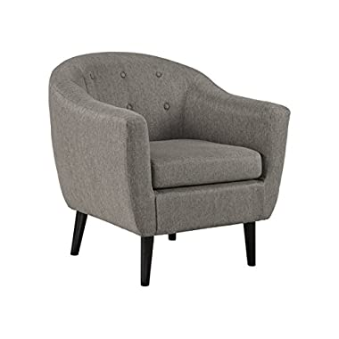 Ashley Furniture Signature Design - Klorey Accent Chair - Contemporary Style - Charcoal Gray
