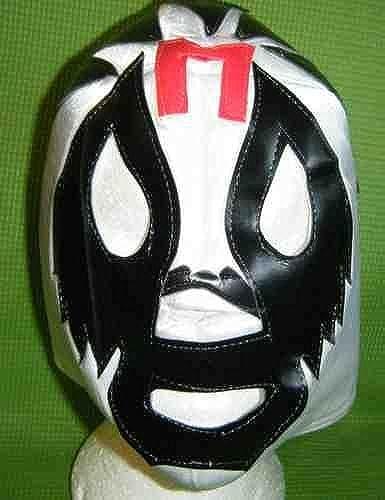 Mil Wimperntusche Mexikanischer WWE Wrestling Maske für Erwachsene Lucha Libre Hirsch Do Party Halloween wwe tna ecw roh AAA
