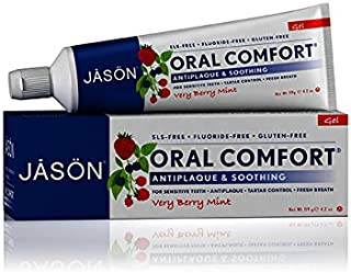 海外直送品 Jason Natural Products Toothpaste Oral Comfort Non-Fluoride CoQ10 Gel, 4.2 Oz