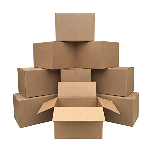 AmazonBasics Moving Boxes - Medium, 18' x 14' x 12', 10-Pack