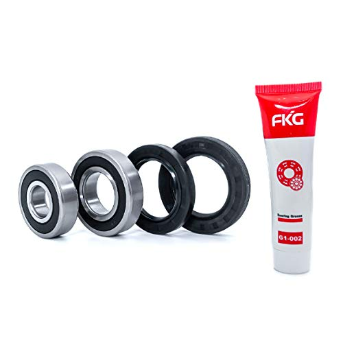 FKG Front Load Washer Tub Bearing and Seal Kit W10772619 W10290562 W10283358 For Maytag Whirlpool