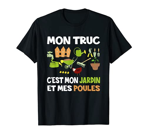 Cadeau Retraite Homme Humour Cadeau Original Noël Jardinage T-Shirt