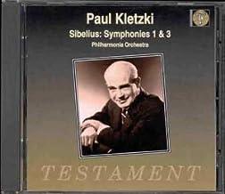 Symphonies 1 And 3 (Kletzki, Po) by Jean Sibelius