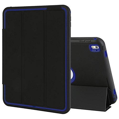 TKOOFN iPad Pro 9.7 Case Drop Protection Rugged Protective Heavy Duty Shockproof iPad Case with Auto Wake/Sleep Smart Cover with Stand for iPad Pro 9.7