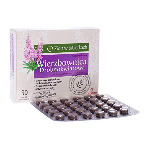 EPILOBIO PARVIFLORUM (SMALLFLOWER WILLOWHERB) 680 mg Apoya el buen funcionamiento de la prostata y del sistema urinario.