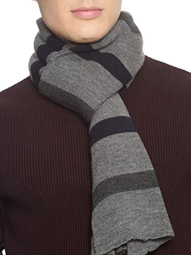 513 Men Acrylic Woolen Casual Winter Wear Striped Knitted Warm Premium Mufflers Grey 4 41j vhITvzL. SL500