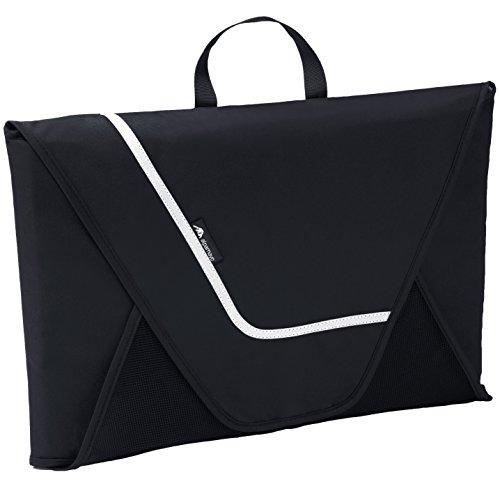 Alpamayo® Hemdentasche mit Falthilfe für knitterfreie Hemden auf Reisen für den Transport von Hemden im Koffer, Handgepäck oder Reisetasche, schwarz