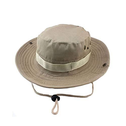 AROVON Bucket Hats Outdoor Jungle Militar Camuflaje Bob Camo Sombrero Pesca Camping Barbacoa Algodón Montaña Escalada Sombrero