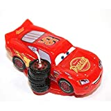 Dekora - 346053 Bougie d'anniversaire de Flash Mcqueen de Disney Pixar Cars