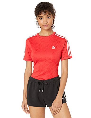 adidas Originals Women's Superstar Body Suit, Multi Bottom: Medium Grey Heather/White