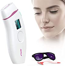 IPL Hair Removal for Women and Men Permanent Painless Laser Hair Removal System 500,000 Flashes at-Home Hair Remover Treat...