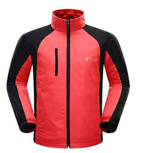 Yzibei sportkleding ademende golfkleding herfst winter met kleding heren lange mouwen golf trenchcoat mannen fluorescerend groen golfkleding duurzame sportkleding