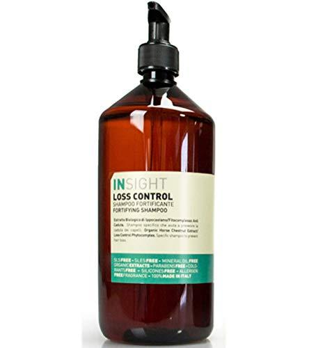 INSIGHT LOSS CONTROL Shampoo stärkende Haar-Pflege Beauty-Pflege Menthol-Shampoo gegen Haarausfall mit Guarana 900 ml