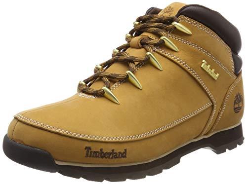 Timberland Euro Sprint Hiker Waterproof, Zapatillas Chukka para Hombre, Amarillo (Wheat Nubuck), 43 EU