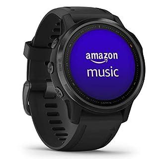 Garmin fēnix 6S Pro - Reloj GPS multideporte con mapas, música, frecuencia cardíaca y sensores, Negro con correa negra (B07VYV7BDG) | Amazon price tracker / tracking, Amazon price history charts, Amazon price watches, Amazon price drop alerts