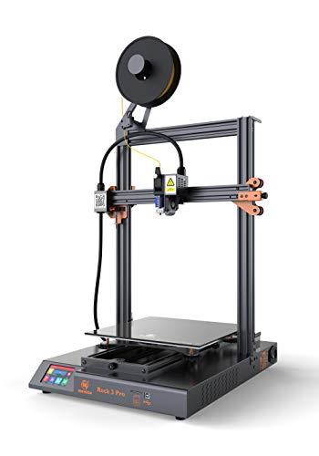 Stampante 3D MINGDA Rock 3 Pro pre-assemblata al 95% con piattaforma in vetro, estrusore a trasmissione diretta BMG TMC2208 Silent Printing, 320 x 320 x 400 mmpa silenziosa, 320 x 320 x 400 mm