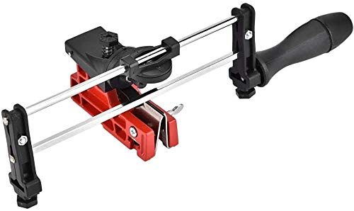 DINGKAI Filing Guide for Round Chain Saw File and Flat Chain Saw File Bar Mounted Precision Chain Saw Sharpening Tool (DKGT010A)