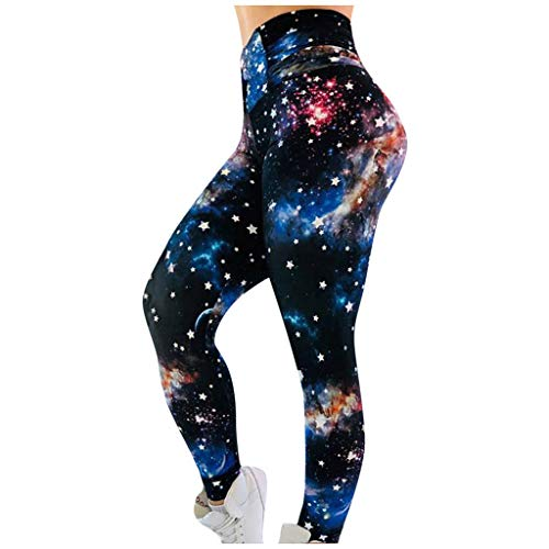 Fantastic Deal! Digital Print Leggings for Women – Daisies Galaxy Marble High Waist Yoga Leggings Women's Workout Leggings Fitness Sports Gym Running Yoga Athletic Yoga Pants for Women
