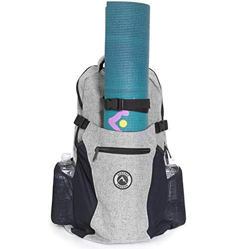 AURORAE Yoga Multi Purpose Backpack. Mat Sold Separately (Snow)