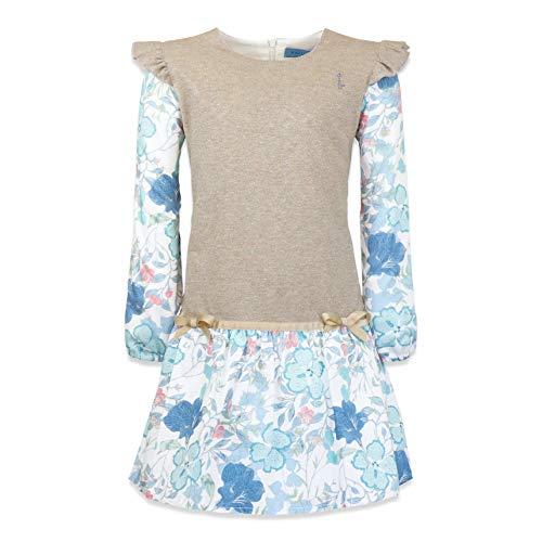 KATU Kids Made in Italy Vestito di Cotone Satinato Arianna (6 Anni IT Bambina)
