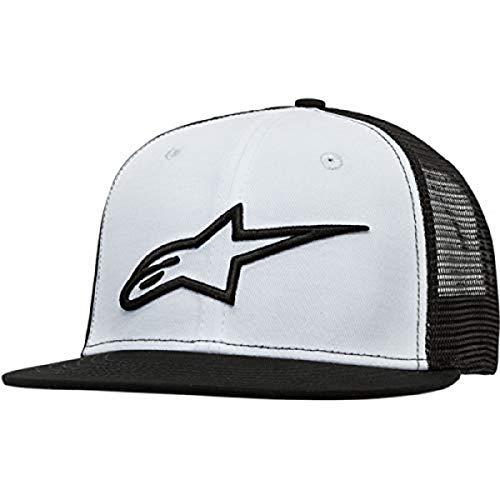 Alpinestars Corp Camionero Gorra de béisbol, Hombre, Blanco Negro, OS