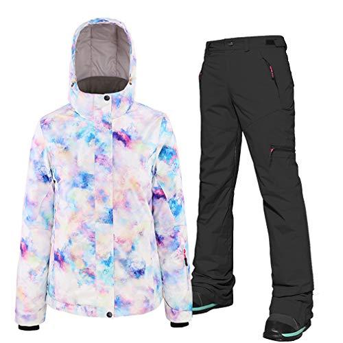Surfkostuum voor dames, ski-jack en broek, ademend, snowboard-jas, skipak, skibroek, ski-snelheid, voor snowboard, bergbeklimmen