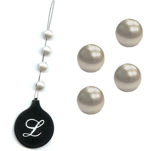 Bijoux cheveux, Perles crème Lucyfhair