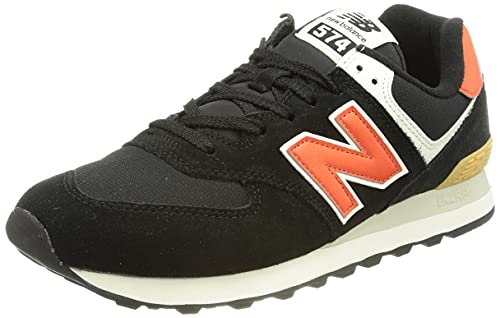 New Balance Ml574ml2_43, Zapatillas Hombre, Negro, EU