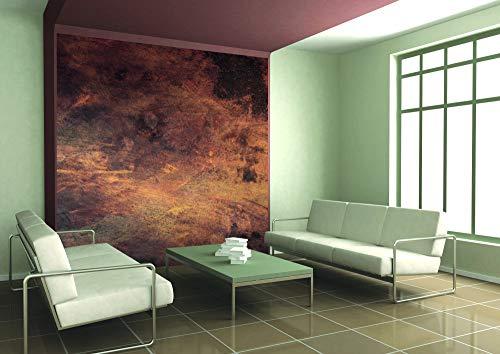 Vlies Fototapete VERKRATZTES KUPFER 225 x 250 cm | Vliestapete - Wandtapete für Wohnzimmer Schlafzimmer Büro Flur | PREMIUM QUALITÄT - MADE IN EU - Inklusive Tapetenkleber