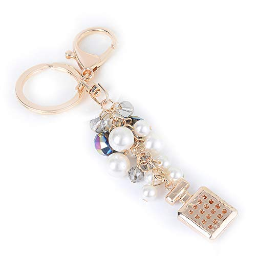 sangni parfum fles vol diamant legering sleutelhanger