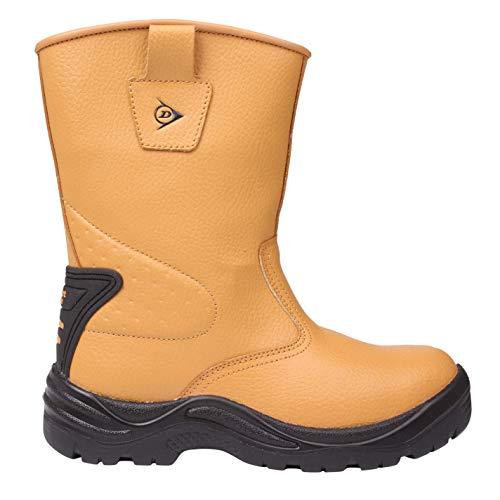 Dunlop Hombre Safety Rigger Botas De Seguridad Miel EU 47 (UK 12)