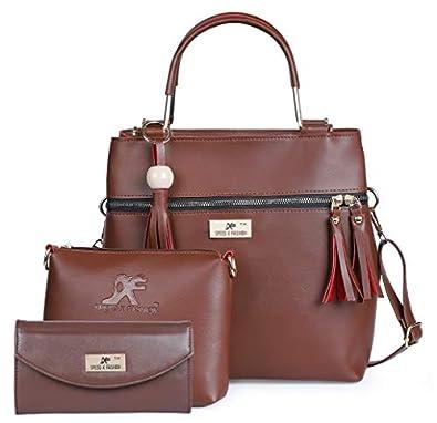 Speed X Fashion PU Handbag With Combo