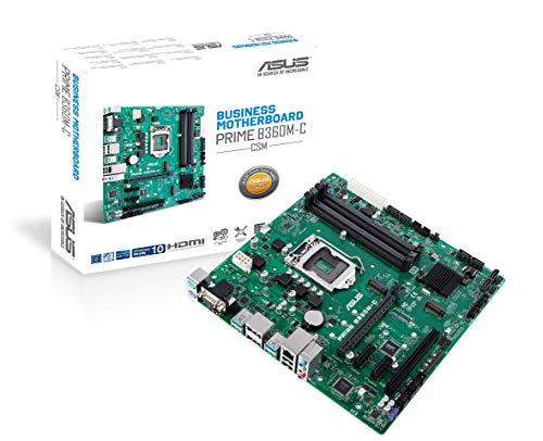 ASUS Prime B360M-C/CSM Business moederbord socket 1151 (mATX, Intel B360, DDR4 geheugen, M.2, 6x SATA 6Gb/s, USB 3.1 Gen 2)