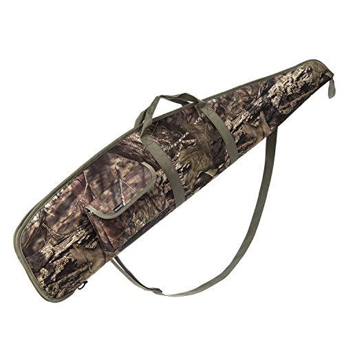AUMTISC Estuche de Rifle Rifle de Alcance Suave Escopeta Caza Disparo Caza de Rifle Accesorios Bolsa 52 Pulgadas Camuflaje