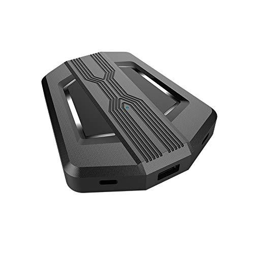 1 Uds., Controlador de Adaptador convertidor de ratón y Teclado de Audio para Juegos para PS4 / PS3 One 360 / N-Switch, Accesorios de Consola (Modelo de Audio)