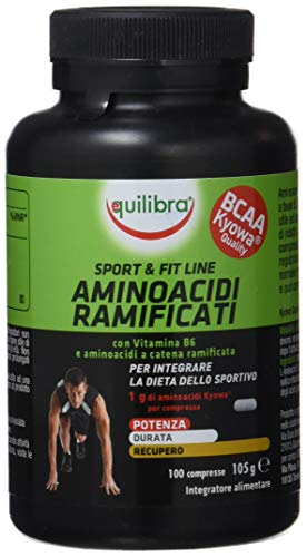 Equilibra Aminoacidi Ramificati BCAA, 100 compresse