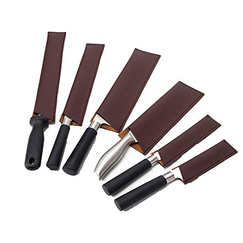 HGJ157 - Funda de piel para cuchillos (6 unidades)